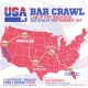 USA Bar Crawl Labor Day Weekend Saturday 1st