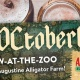 Croctoberfest at the St. Augustine Alligator Farm Zoological Park
