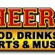 Karaoke at Cheers Food & Spirits