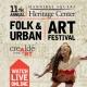 11th Annual Folk and Urban Art Festival