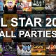 All Star Weekend 2019 All Parties