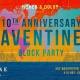 10th Anniversary Aventine Alley Party