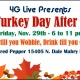 4G LIVE Presents: The Turkey Day After Party