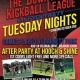 The Downtown Kickball League and After Party