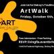 October ArtWalk at the Heart of Delray Gallery Delray Beach