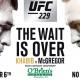 McGregor vs Khabib - No Cover