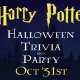 HARRY POTTER TRIVIA FOR THE HALLOWEEN PARTY