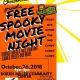 spooky movie night Halloween party