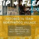 Sip & Flea at Juuuicy on October 14th from 10am to 2pm