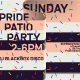 The Lawrence's Sunday Pride Patio Party