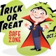 Trick or Treat Safe Zone Block Party