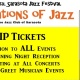 Sarasota 'Generations of Jazz' Festival - VIP Ticket
