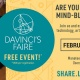 DaVinci's Faire, Tech Talks and Manatee STEM