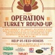 7th Annual Operation Turkey Round-Up