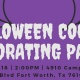 Halloween Cookie Decorating Party