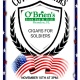 Cigars for Soldiers at O'Brien's Irish Pub & Grill Brandon