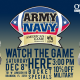 Army Vs Navy at O'Brien's Irish Pub & Grill Brandon