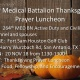264th MED BN Thanksgiving Prayer Luncheon