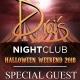 DJ PAULY D - Drais Nightclub & Beachclub Guestlist - Halloween Weekend