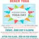 Sunset Yoga on the Beachfront Lawn