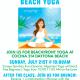 Yoga on the Beachfront Lawn