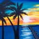 Wine & Canvas Painting Class: Ocean Beach Pier