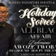 Holiday Soiree   ALL BLACK AFFAIR