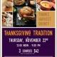 BOUNTIFUL THANKSGIVING DINNER