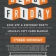 Black Friday and Cyber Monday at Sky Zone