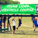 Young Lions Ninja Warrior Obstacle Course