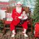 Santa Arrives at Stockyards Station