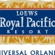 New Year's Eve Buffet at Loews Royal Pacific Resort at Universal Orlando