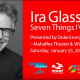 An Evening with Ira Glass