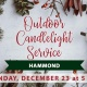 Outdoor Christmas Candlelight Service - Trinity at Hammond