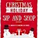 Christmas Holiday Sip and Shop