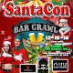 Plaza Midwood Christmas Bar Crawl Santacon 2018