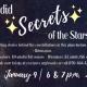 Sordid Secrets of the Stars Planetarium