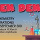 Chem Demos at the Science Center