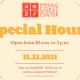 Open Special Hours