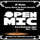 Open Mic Night at JF Kicks