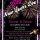 2019 New Year's Eve Dinner and Dance