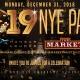 NYE 2019 Party – The Market & Hangar Lounge