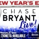 NYE 2019 LIVE: CHASE BRYANT PRIVATE CONCERT!