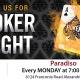 Paradiso Mondays Poker Tournaments and Pasta!