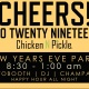 New Years Eve Party Chicken N Pickle-KC