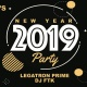 New Years Eve at The Dragon's Den with DJ's FTK & Legatron Prime