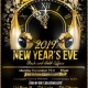2019 New Years Eve Black and Gold Affair