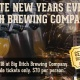 New Year's Eve 2019 at Big Ditch Brewing Company