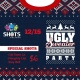 Ugly Sweater Party at SHOTS