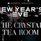 Joonbug.com Presents The The Crystal Tea Room New Years Eve 2019 Party